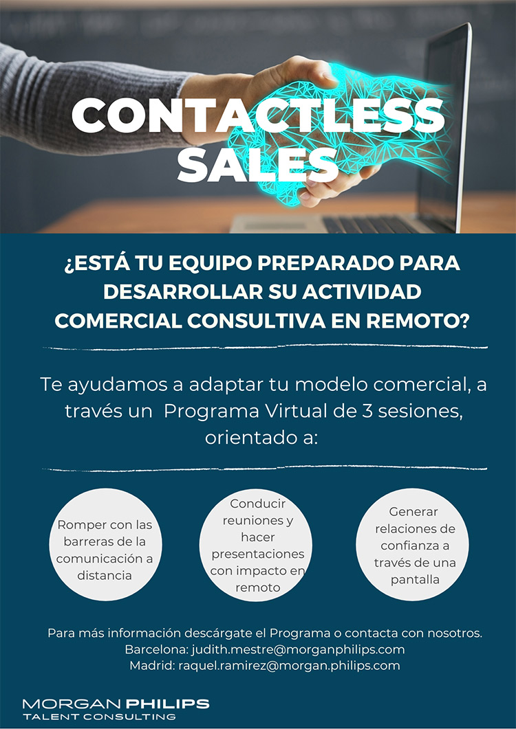 Flyer PROGRAMA CONTACTLESS SALES